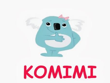 Komimi  イラスト by Greg Vercoe