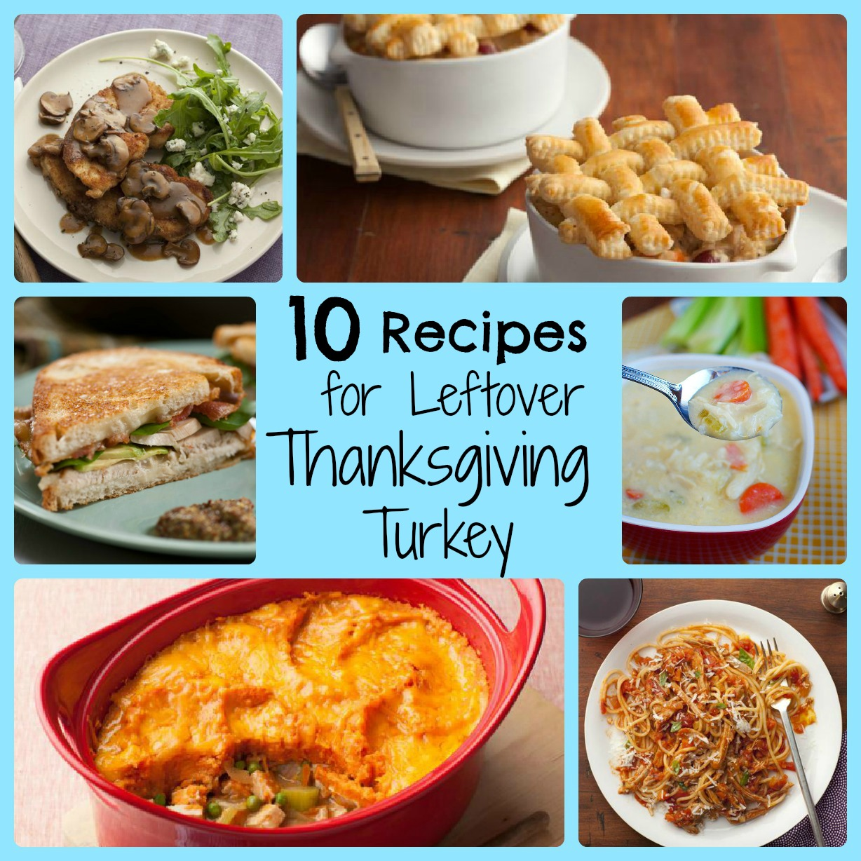 Six on saturday new uses for leftover thanksgiving turkey for Leftover thanksgiving turkey recipes
