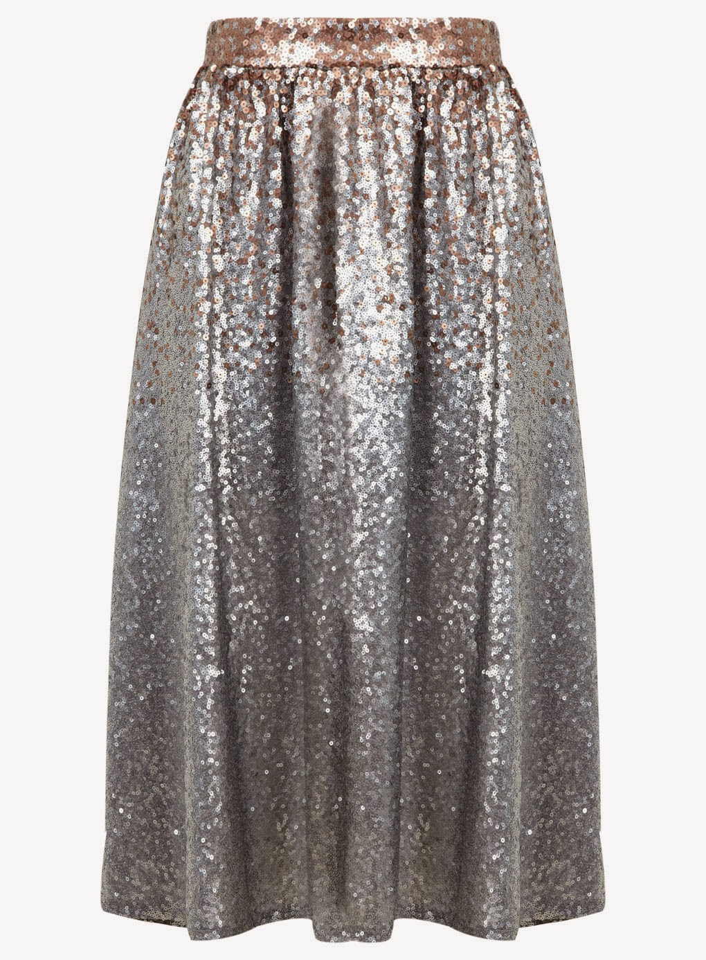 silver sequin skirt selfridge