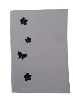 handmade sewn card