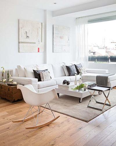 Decorole: SALÓN: Cojines para un sofa blanco