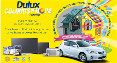Dulux 'Colours of Hope' Contest