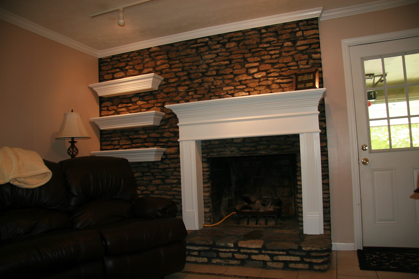 specialist and handyman fireplace mantel floating shelves