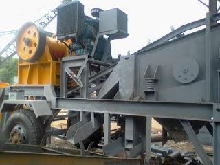 CARA : Mesin Stone Crusher Plant/Pemecah Batu (Harga Jual/Sewa Indonesia)