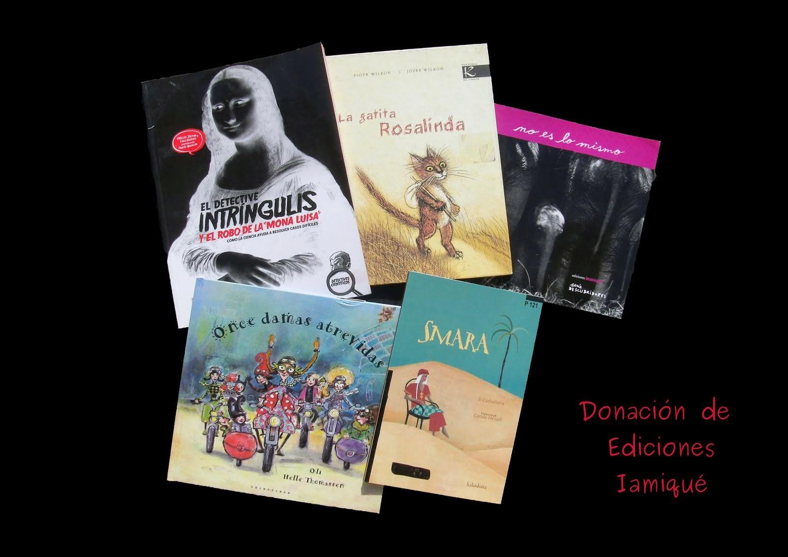 Donación Ediciones iamiqué (2014)