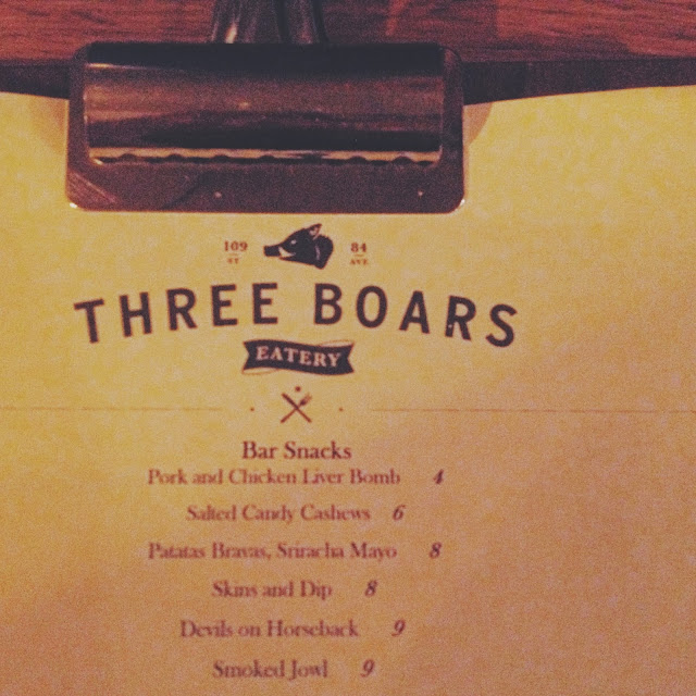 three boars