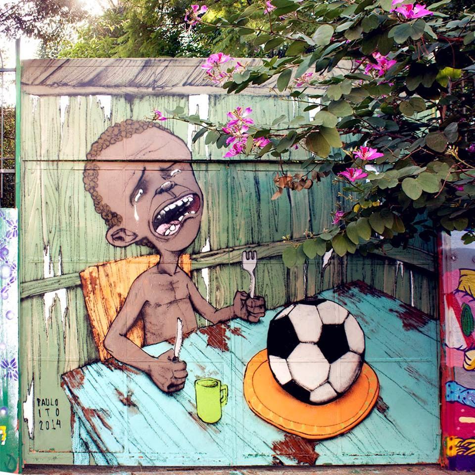 descontento en Brasil por el Mundial 2014