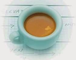 Café faz bem para o fígado, não a cafeína.