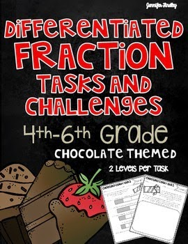 https://www.teacherspayteachers.com/Product/Fractions-Tasks-and-Challenges-Differentiated-Fraction-Activities-1578818