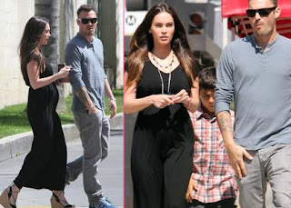 Pregnant Megan Fox & Birthday Boy Brian's Spiritual Celebration » Gossip | Megan Fox