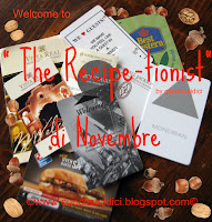 """THE RECIPE-TIONIST"" DI NOVEMBRE  È:"