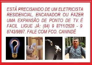 CANINDÉ ELETRICISTA E ENCANADOR