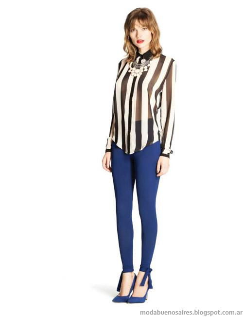 Ceilonia otoño invierno 2014, camisas y blusas invierno 2014.