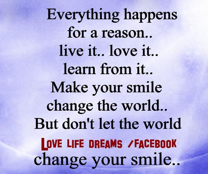 everything happens for a reason quotes quotesgram