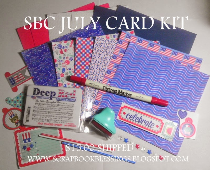 SBC's CLUB CARD KIT- $15.00 shipped