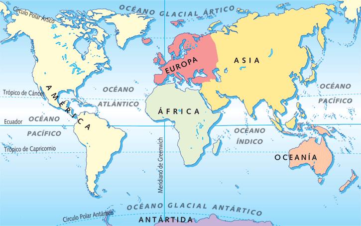 foto continente americano antartico ocianico: