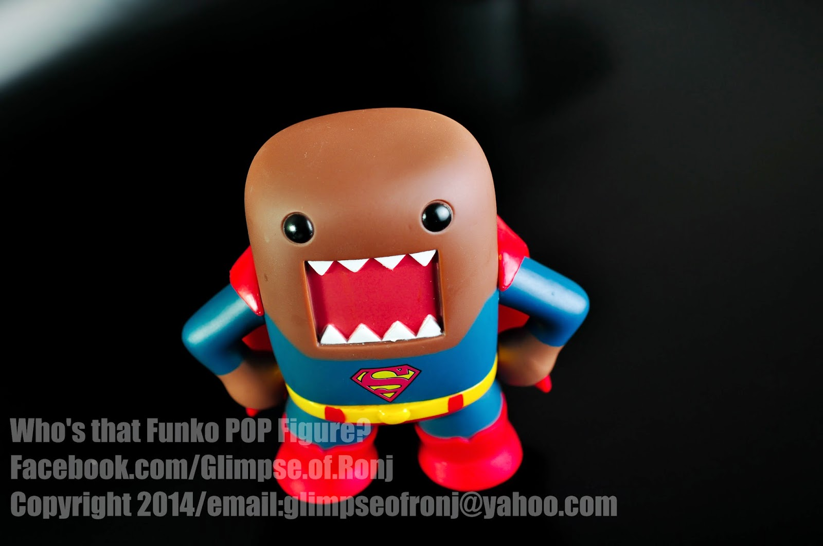 DOMO-KUN Superman FUNKO POP VINYL
