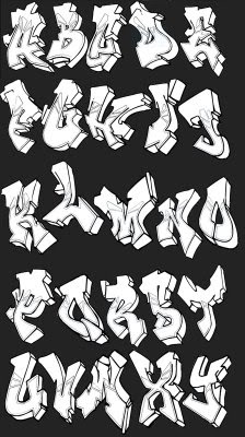 Graffiti_Alphabet_Fonts_Tex