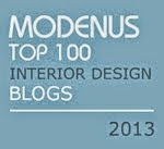 Nest by Tamara Named #1 of Top 100 Design Blogs