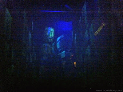 Mr. Toad's Wild Ride Disneyland interior crates barrels TNT