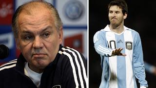 "Sabella: ""es difícil que Messi juegue mal"""