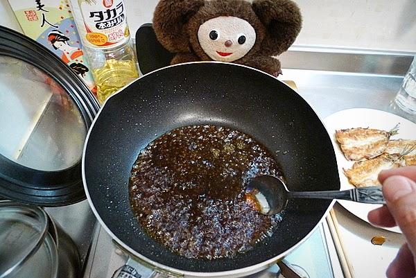 イワシ蒲焼の作り方(5)
