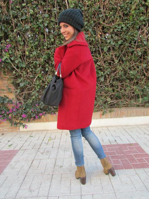 cristina style outfit ootd street style fashion blogger look tendencia moda beanie