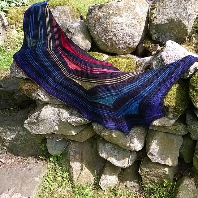 Knitting Goddess Mini Skeins : Roobeedoo august