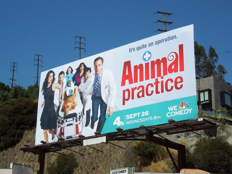 Animal Practice season 1 billboard Sunset Strip