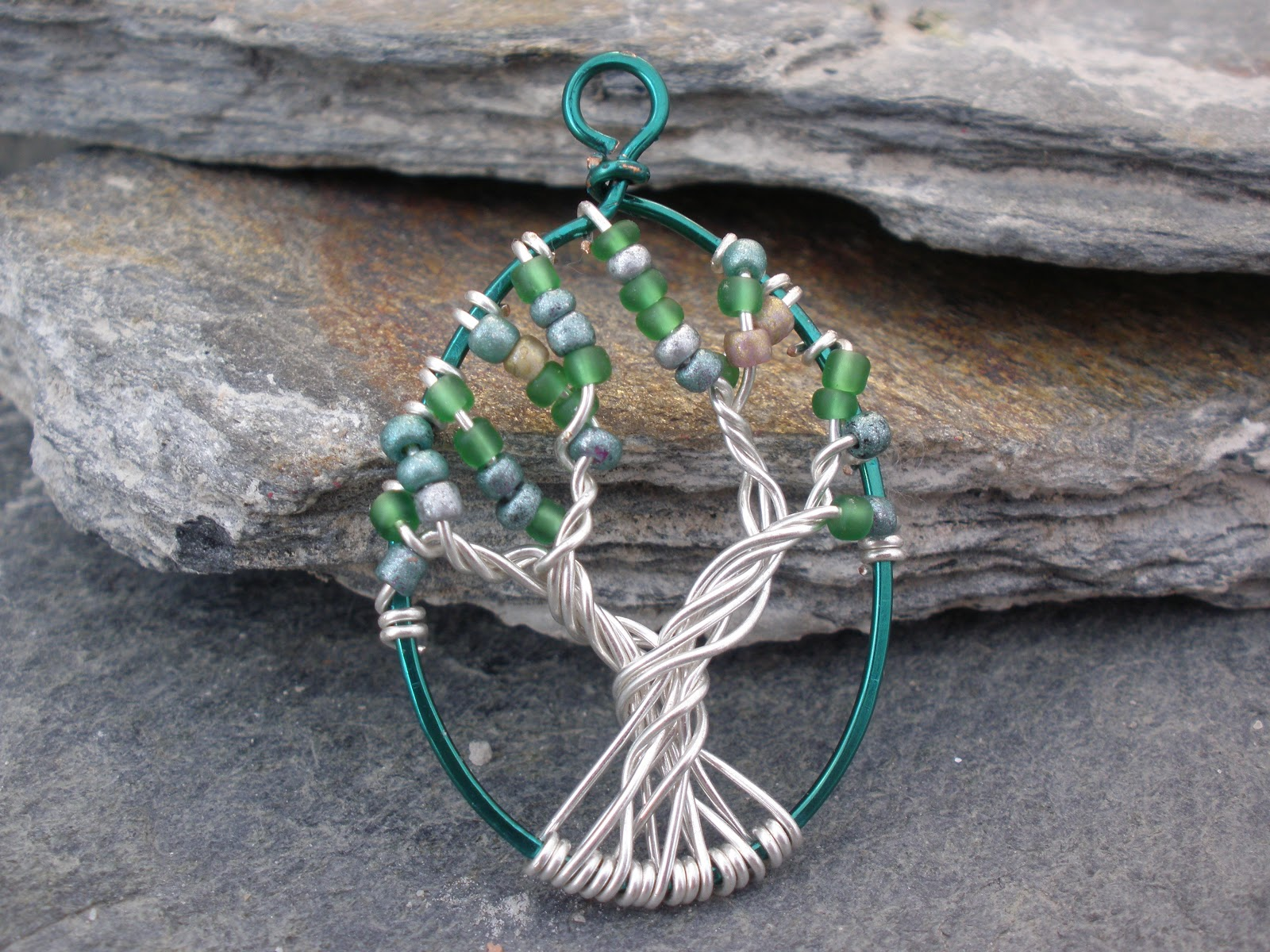 Chloe Louise Handmade Jewellery: How to: Make a Tree of Life Pendant