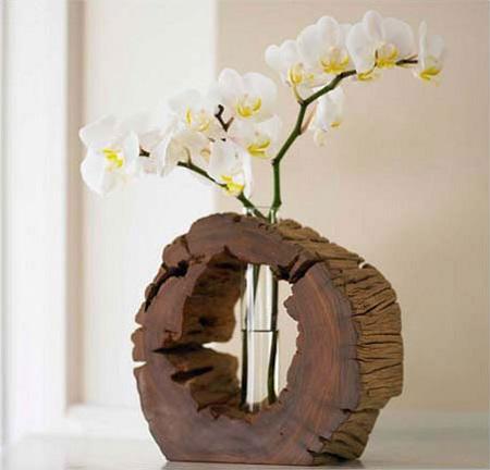 Arte en el desván: protagonismo natural: decora con troncos