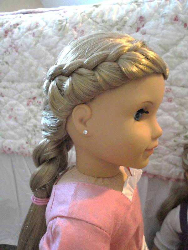 cute hairstyles for black females : American Girl Doll Chronicles: Beautiful French Braid Hairstyles