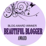 Beautiful Blogger Award Winner