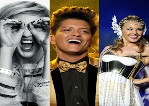 Novidades de Kylie Minogue, Ellie Goulding, U2, Skylar Grey, e claro, Bruno Mars no Super Bowl!