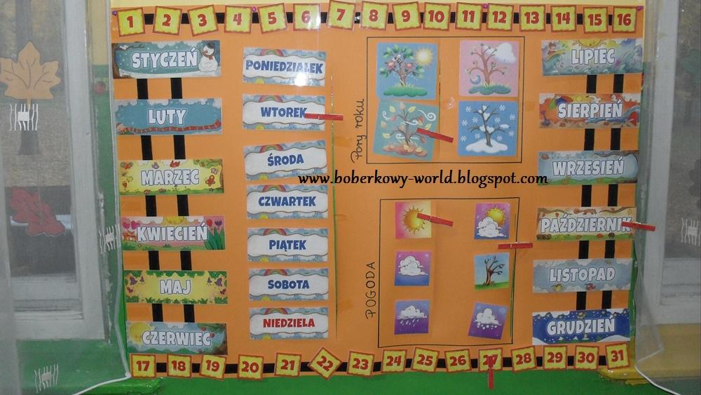 Boberkowy World Z Wizyta U Boberków Wystrój Naszej Sali Przedszkolnej