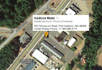 Map to Hadlock Motel