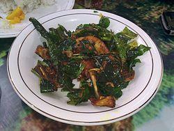 makanan khas indonesia dari daerah aceh - ayam tangkap