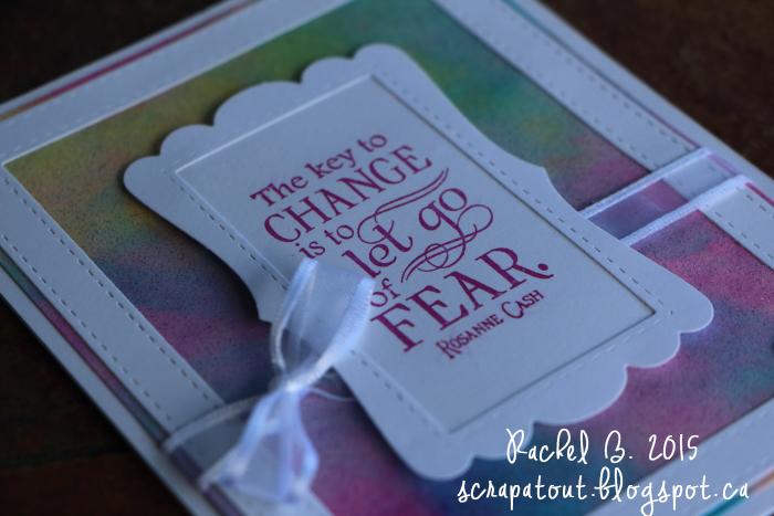 Handmade Card, Impression Obsession, Frames