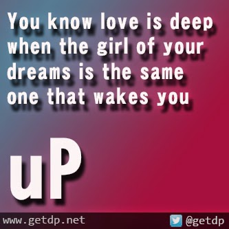 meeting the girl of your dreams quotes