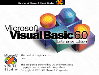 Pengertian VB 6.0 - Apa itu Visual Basic - VB 6.0 ?