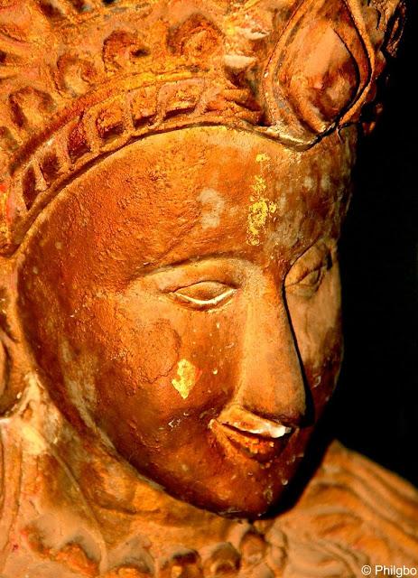 Sculpture de Buddha à Nong Khai, Thailande.