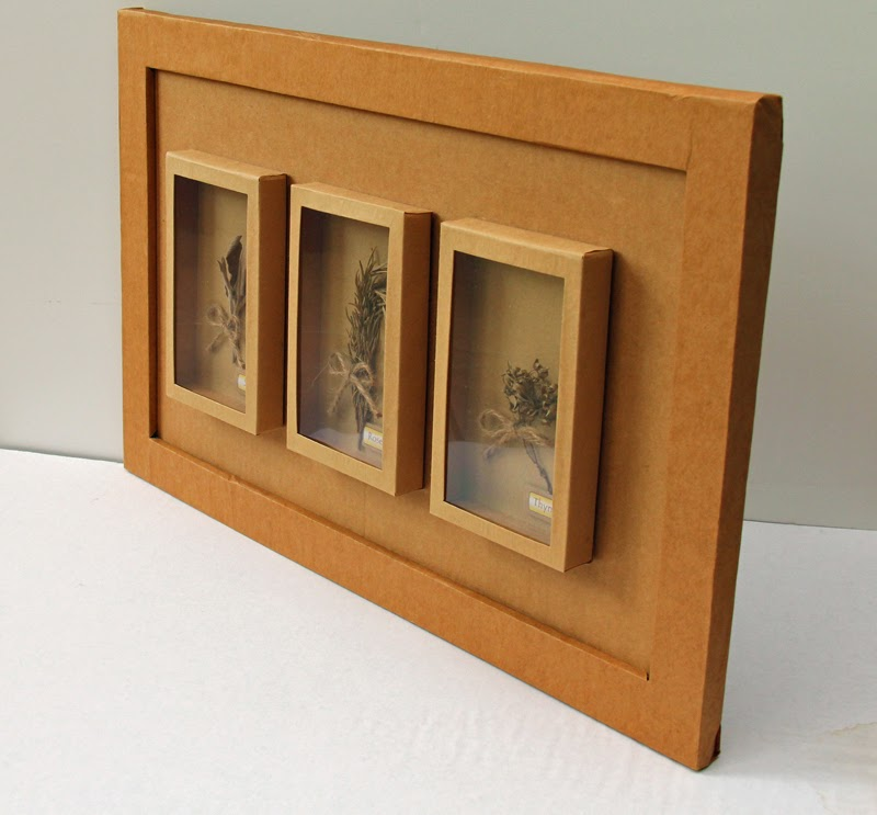 Cardboard Shadow Box
