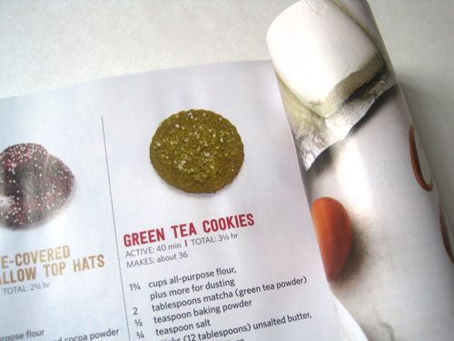 Tea with friends green tea cookies from food network magazine like to purchase the christmas issue of food network magazine each year because it usually features some new cookie recipes and this weekend forumfinder Gallery