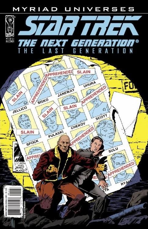 Star Trek Homenaje Uncanny X-Men 141