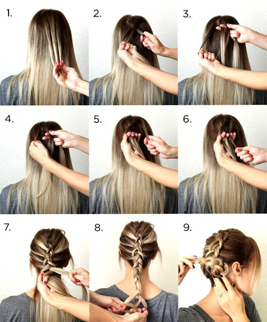 xbxcvbxcvbxcvb: Cute and Easy Hairstyles Tutorials 2015-Women Long ...