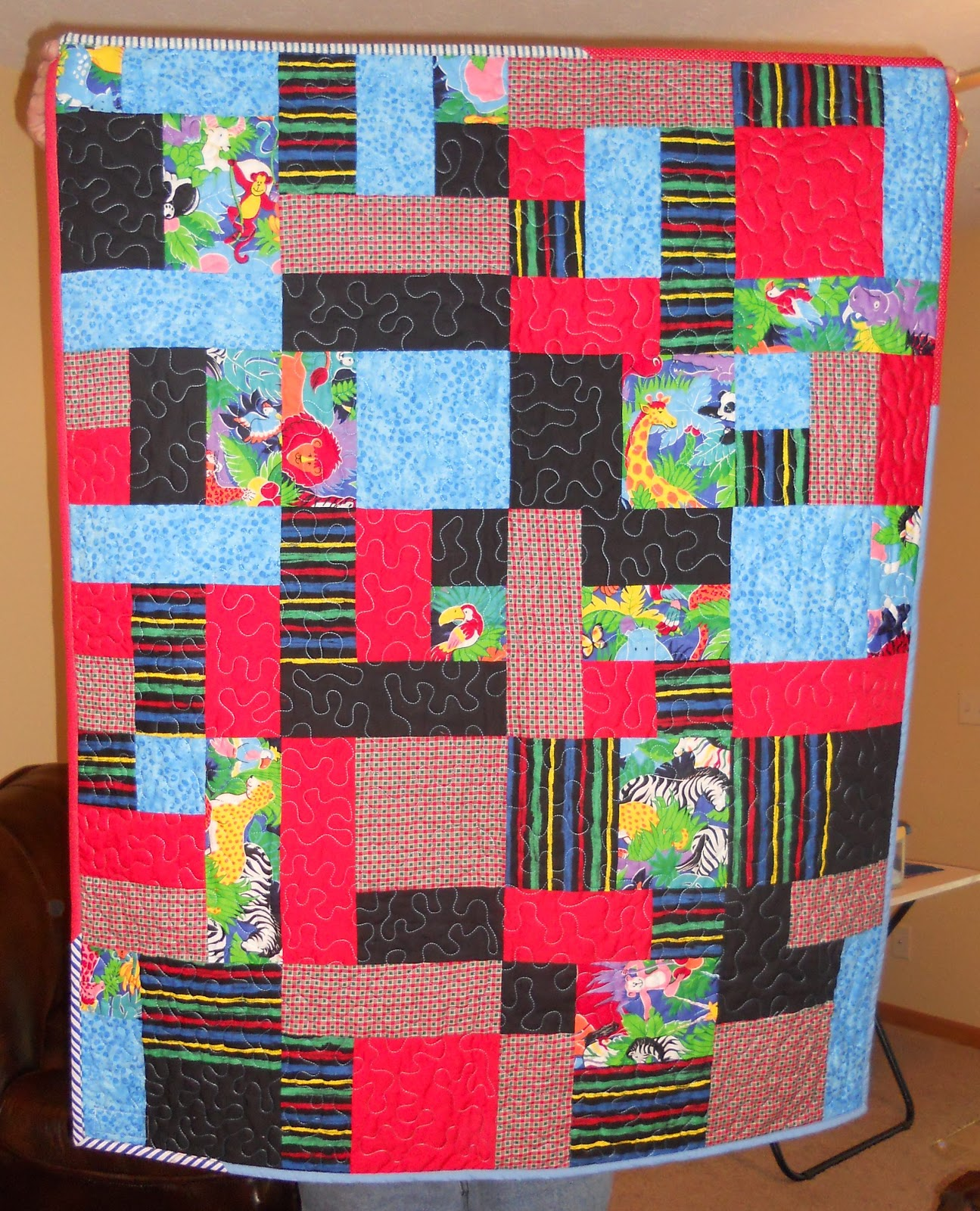 Quilts from the Bluffs: Quilt Deliveries - Project Linus