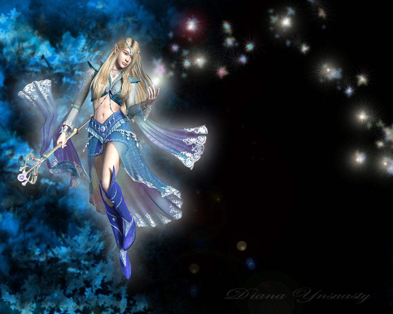 Free hd fantasy woman wallpapers 1600x1200 wallpapers - 3d fantasy wallpaper ...