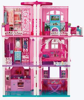 Barbie Casa dei Sogni  ascensore New 2013 prezzo caratteristiche regalare giocattolo natale
