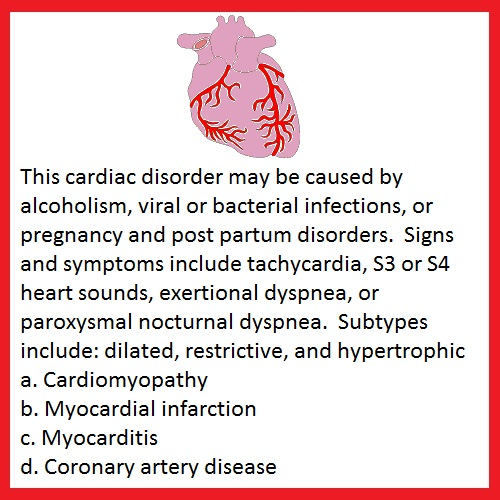 Nursing Stuff: Cardiac Disorders