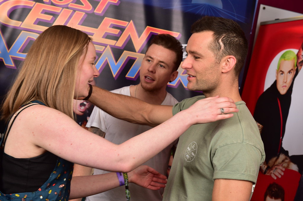 McBusted Meet and Greet Newcastle, Harry Judd, Danny Jones